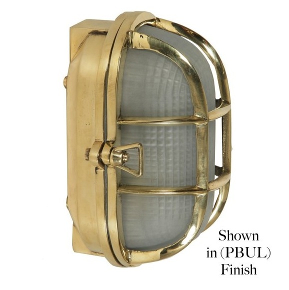 Limehouse (445) Oval Ships Bulkhead Light (Small)