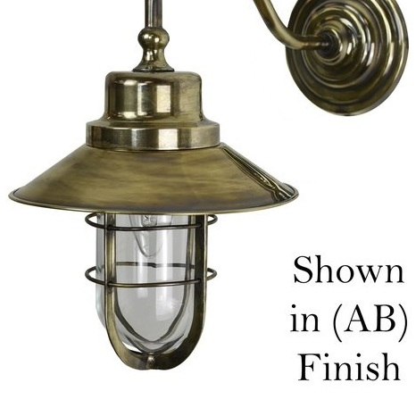 Limehouse (448W) Wheelhouse Wall Light