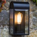 Astro Lighting Newbury 7267 Black Exterior Wall Light
