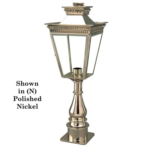 Limehouse (491P) Pagoda Pillar Lamp (Tall)