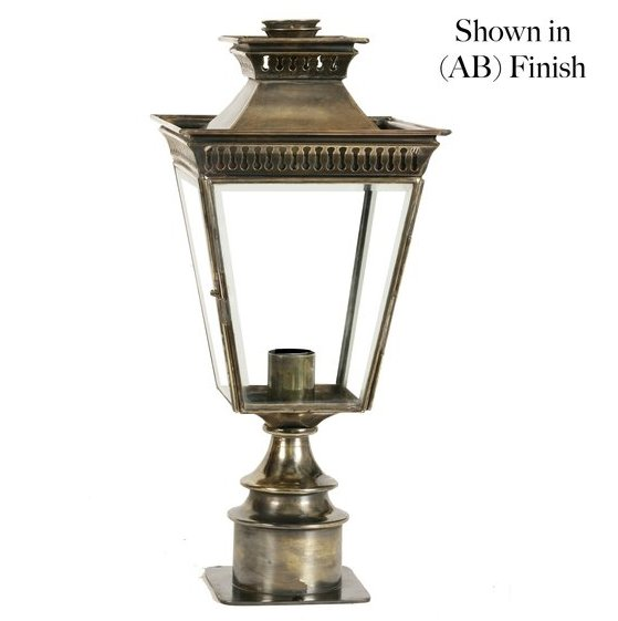 Limehouse (491SP) Pagoda Pillar Lamp (Short)